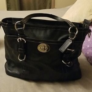 COPY - Coach leather Tote Sold